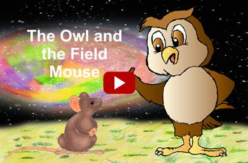 The Owl and the Fild Mouse animated film